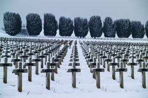 French national cemetery at Douaumont - Verdun